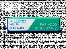 Air Optix Aqua (3линзы)