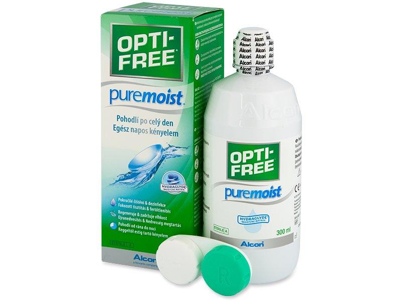 OPTI-FREE PureMoist Раствор 300мл