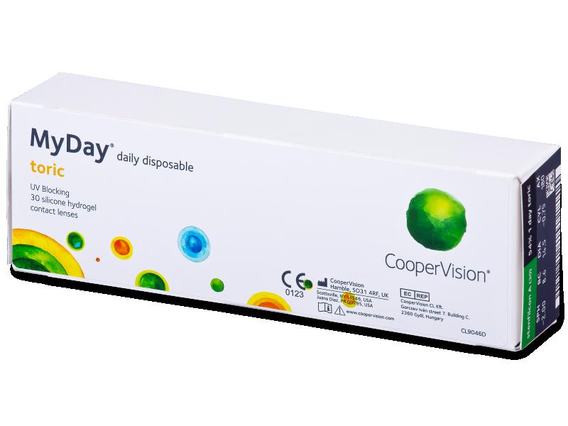 MyDay daily disposable toric (30 линз)