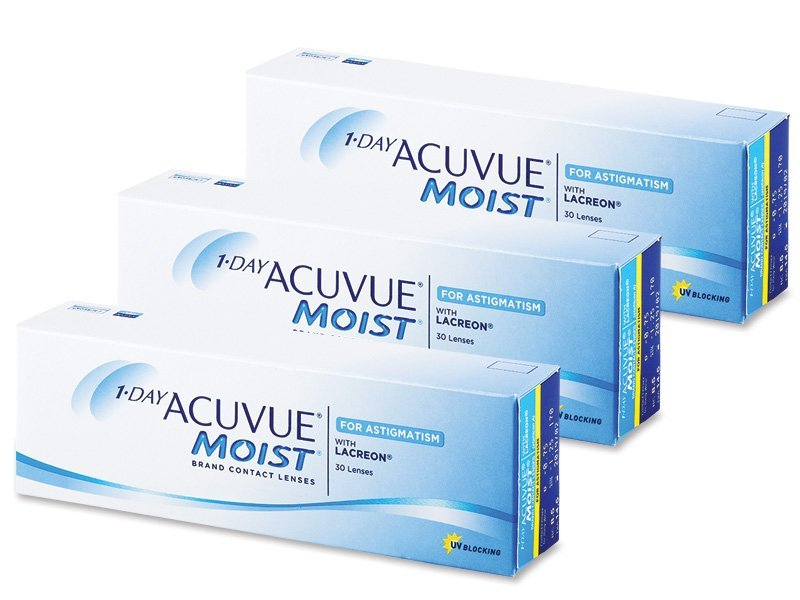 1 Day Acuvue Moist for Astigmatism (90 линз)