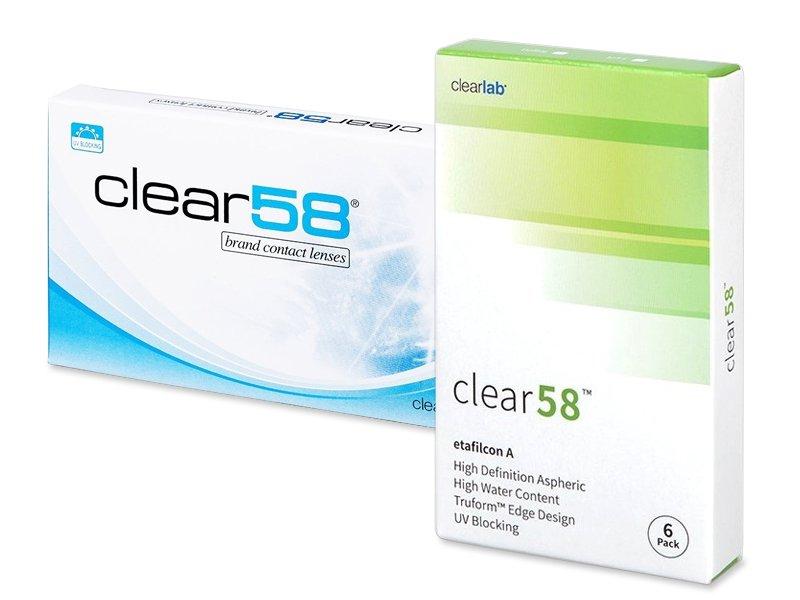 Clear 58 (6линз)