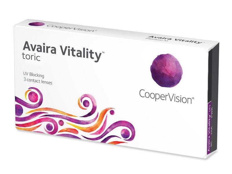 Avaira Vitality Toric (3 линзы)