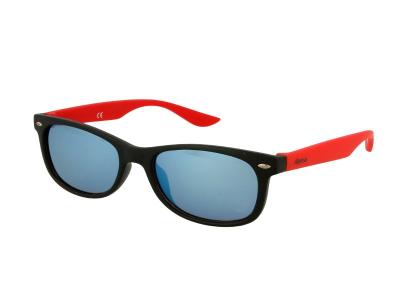 Детские солнцезащитные очки Alensa Sport Black Red Mirror