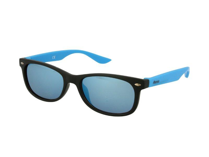 Детские солнцезащитные очки Alensa Sport Black Blue Mirror