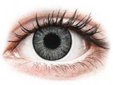 Grey Sterling контактные линзы - естественный эффект - с диоптриями - Air Optix (2 месячные цветные линзы)
