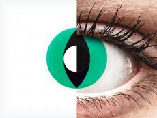 Green Anaconda контактные линзы - ColourVue Crazy (2 цветные линзы)