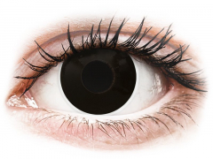 Black BlackOut контактные линзы - ColourVue Crazy (2 цветные линзы)