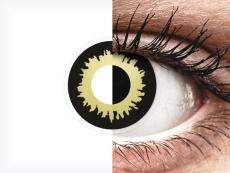 Yellow Eclipse контактные линзы - ColourVue Crazy (2 цветные линзы)