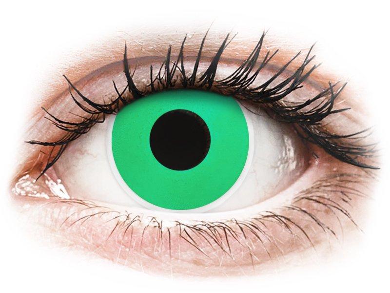 Green Emerald контактные линзы - ColourVue Crazy (2 цветные линзы)