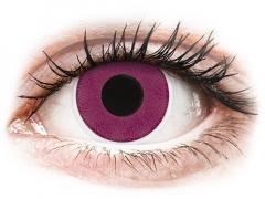 Purple контактные линзы - ColourVue Crazy (2 цветные линзы)