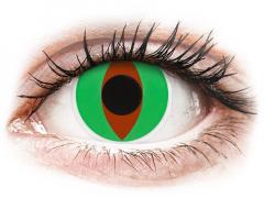 Green Raptor контактные линзы - ColourVue Crazy (2 цветные линзы)