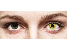 Yellow Smiley контактные линзы - ColourVue Crazy (2 цветные линзы)