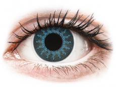 Solar Blue контактные линзы - ColourVue Crazy (2 цветные линзы)