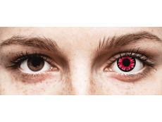 Red Volturi контактные линзы - ColourVue Crazy (2 цветные линзы)