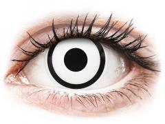 White Zombie контактные линзы - ColourVue Crazy (2 цветные линзы)