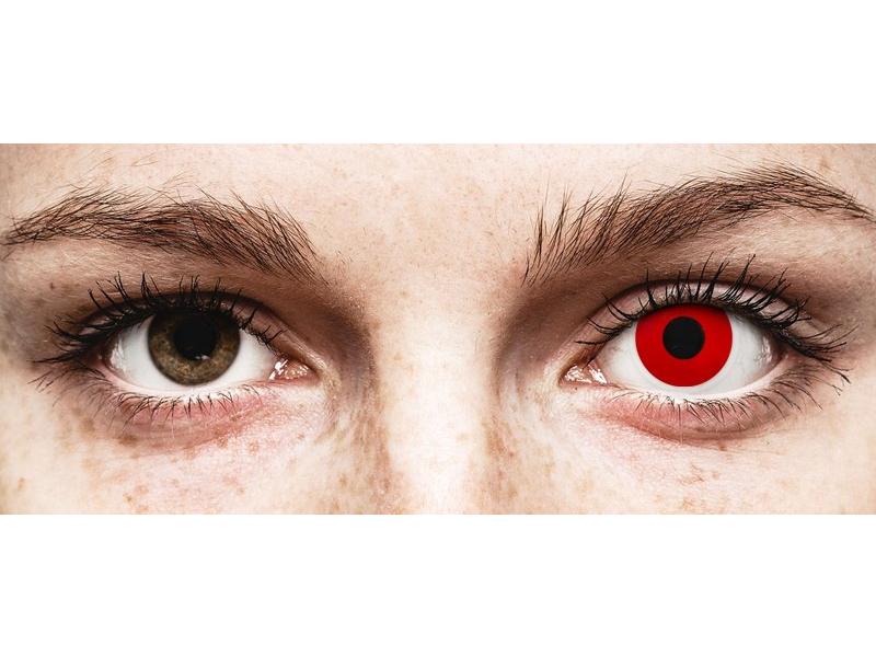 Red Devil контактные линзы - с диоптриями - ColourVue Crazy (2 цветные линзы)
