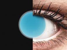 Electric Blue Glow контактные линзы - ColourVue Crazy (2цветные линзы)