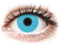 Blue Glow контактные линзы - ColourVue Crazy (2цветные линзы)