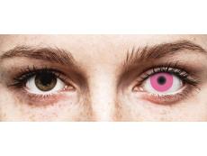 Pink Glow контактные линзы - ColourVue Crazy (2 цветные линзы)