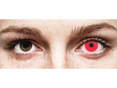 Red Glow контактные линзы - ColourVue Crazy (2 цветные линзы)