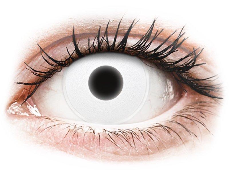 White Glow контактные линзы - ColourVue Crazy (2 цветные линзы)