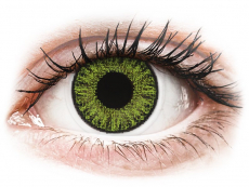 Fresh Green контактные линзы - с диоптриями - TopVue Color (10 однодневных цветных линз)