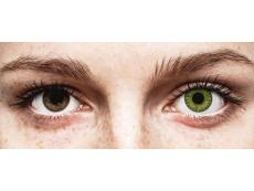 Fresh Green контактные линзы - TopVue Color (10 однодневных цветных линз)