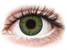 Green контактные линзы - с диоптриями - TopVue Color (10 однодневных цветных линз)