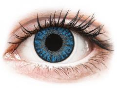 Sapphire Blue контактные линзы - с диоптриями - TopVue Color (10 однодневных цветных линз)