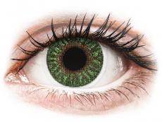 Green контактные линзы - с диоптриями - TopVue Color (2месячные цветные линзы)