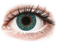 Turquoise контактные линзы - TopVue Color (2 месячные цветные линзы)