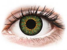Green Glamour контактные линзы - ColourVue (2 цветные линзы)