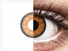 Honey Glamour контактные линзы - с диоптриями - ColourVue (2 цветные линзы)