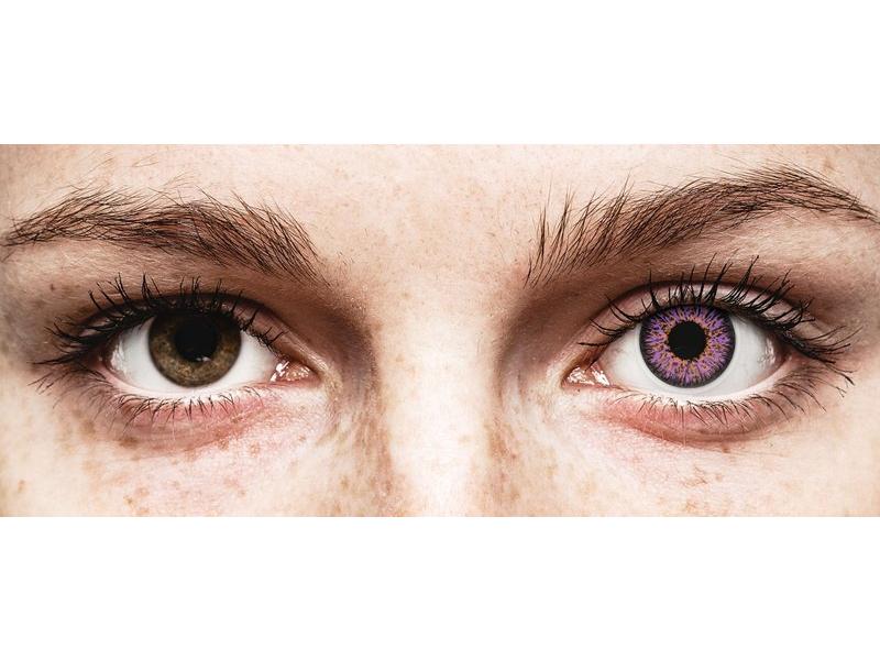 Violet Glamour контактные линзы - ColourVue (2 цветные линзы)
