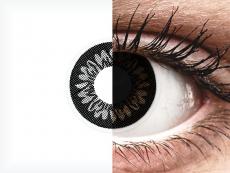 Dolly Black контактные линзы - с диоптриями - ColourVue BigEyes (2 цветные линзы)