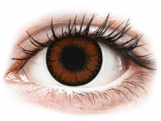 Pretty Hazel контактные линзы - с диоптриями - ColourVue BigEyes (2 цветные линзы)