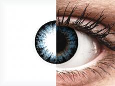 Cool Blue контактные линзы - ColourVue BigEyes (2 цветные линзы)