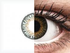 Green 3 Tones контактные линзы - с диоптриями - ColourVue (2 цветные линзы)