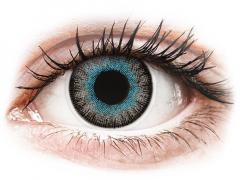 Blue Grey Fusion контактные линзы  - с диоптриями - ColourVue (2 цветные линзы)