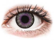 Violet Grey Fusion контактные линзы - ColourVue (2 цветные линзы)