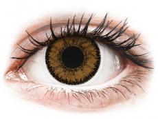 Brown India контактные линзы - SofLens Natural Colors (2 месячные цветные линзы)
