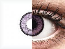 Purple Indigo контактные линзы - SofLens Natural Colors (2 месячные цветные линзы)