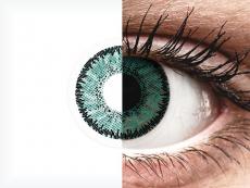 Green Jade контактные линзы - SofLens Natural Colors (2 месячные цветные линзы)