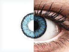 Blue Pacific контактные линзы - SofLens Natural Colors (2 месячные цветные линзы)