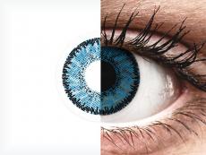 Blue Topaz контактные линзы - SofLens Natural Colors (2 месячные цветные линзы)