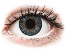 Blue контактные линзы - FreshLook ColorBlends (2 месячные цветные линзы)