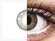 Grey контактные линзы - FreshLook ColorBlends - С диоптриями (2 месячные контактные линзы)