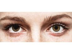 Pure Hazel контактные линзы - FreshLook ColorBlends - С диоптриями (2 месячные цветные линзы)