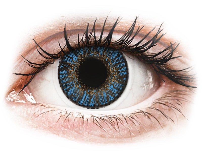 True Sapphire контактные линзы - FreshLook ColorBlends (2 месячные цветные линзы)