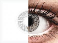 Misty Grey контактные линзы  - FreshLook Colors - С диоптриями (2 месячные цветные линзы)